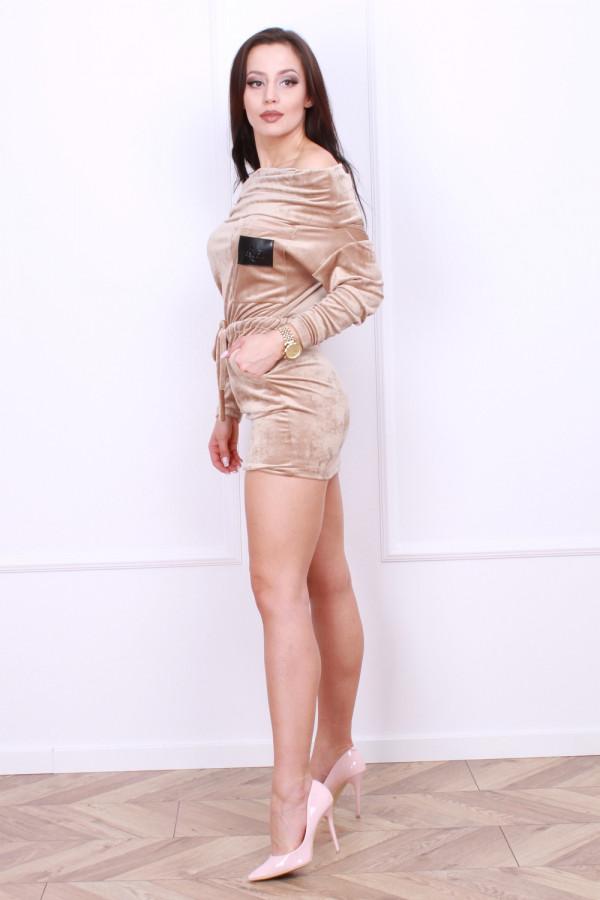 Sukienka welurowa 1