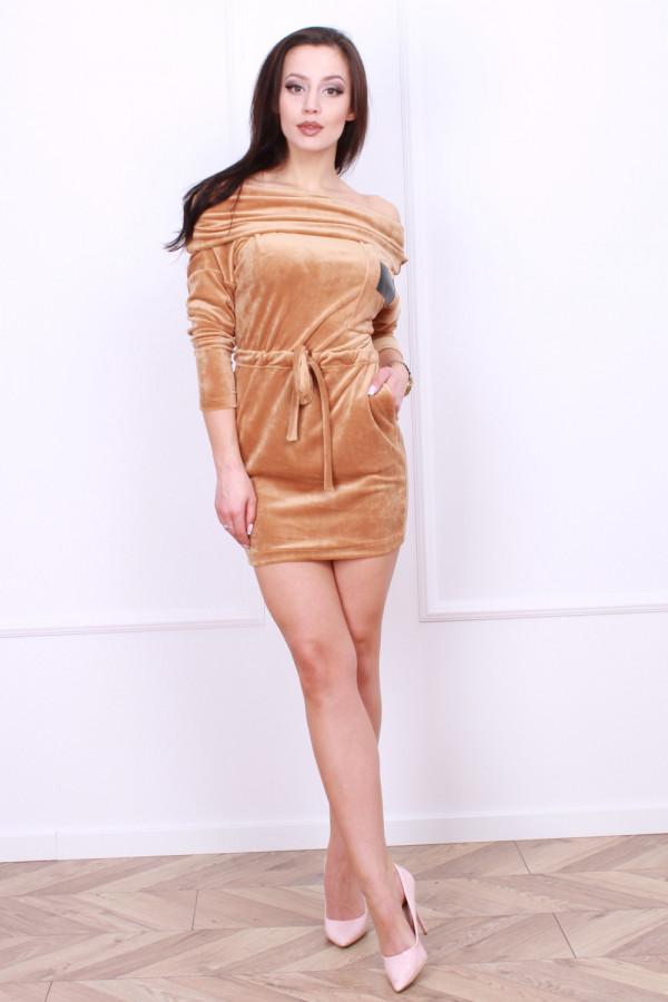 Sukienka welurowa 3