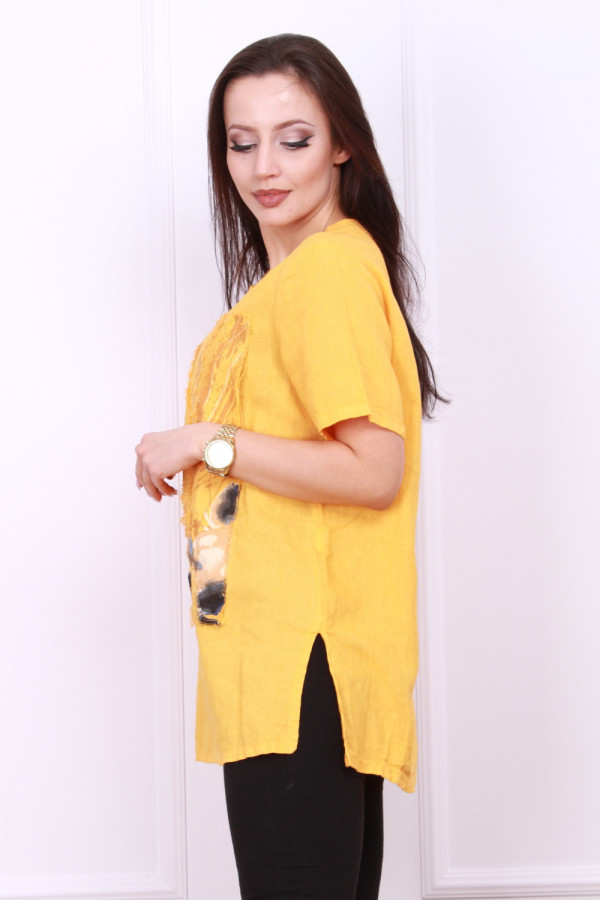 Bluzka lniana Amanda 1