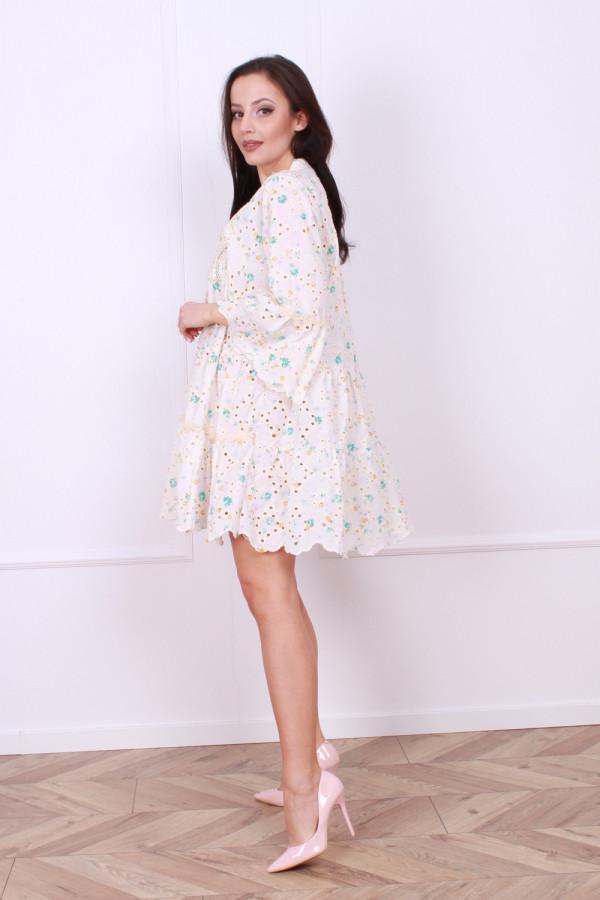 Sukienka Boho kwiaty 1