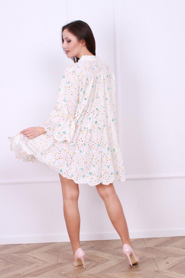 Sukienka Boho kwiaty 2