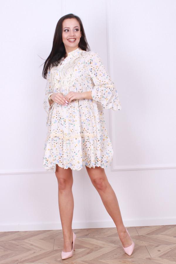 Sukienka Boho kwiaty 3