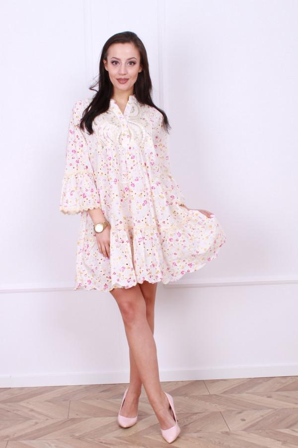Sukienka Boho kwiaty 4