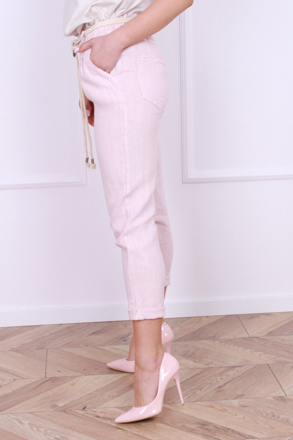 Spodnie lniane Vanessa 1