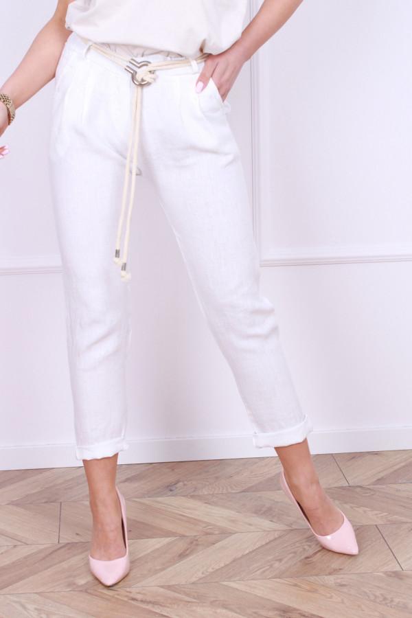 Spodnie lniane Vanessa 3