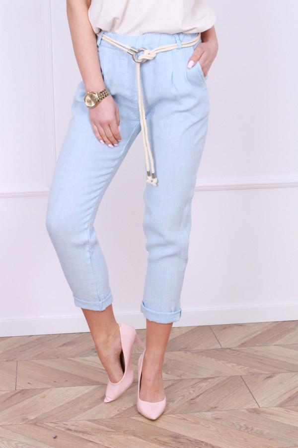Spodnie lniane Vanessa 4