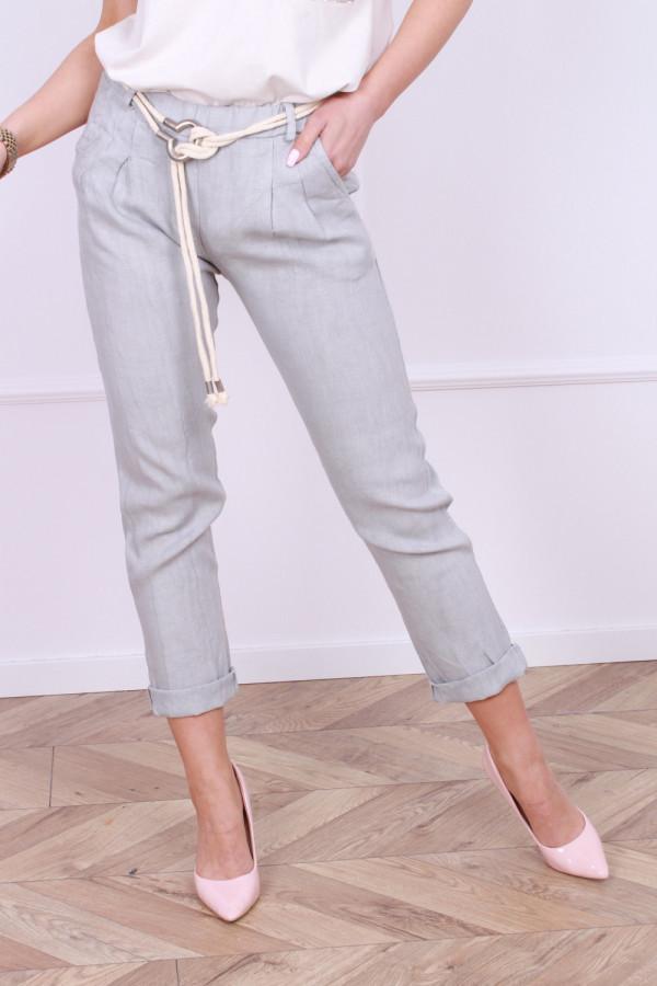 Spodnie lniane Vanessa 7