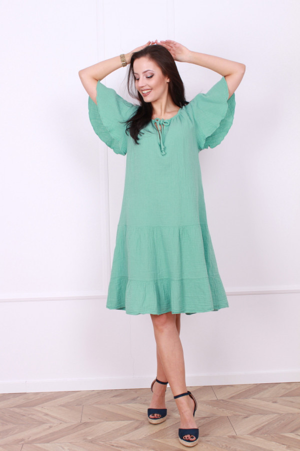 Sukienka muślinowa 5