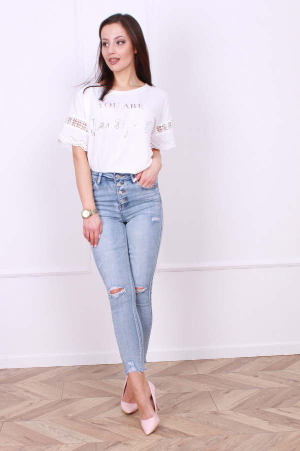 Spodnie jeansowe Amanda