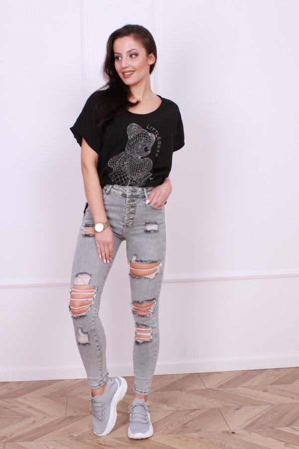 Spodnie jeansowe szare Blanka