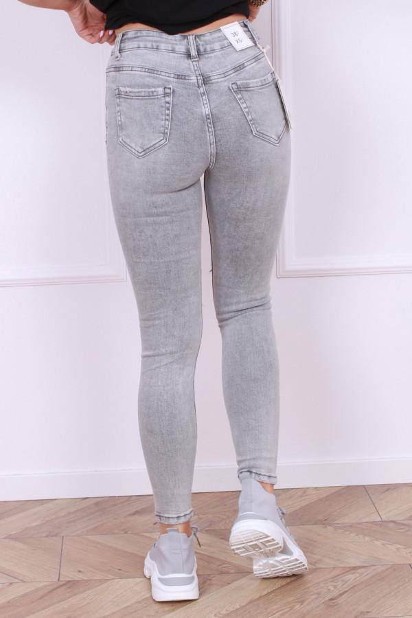 Spodnie jeansowe szare Blanka 2