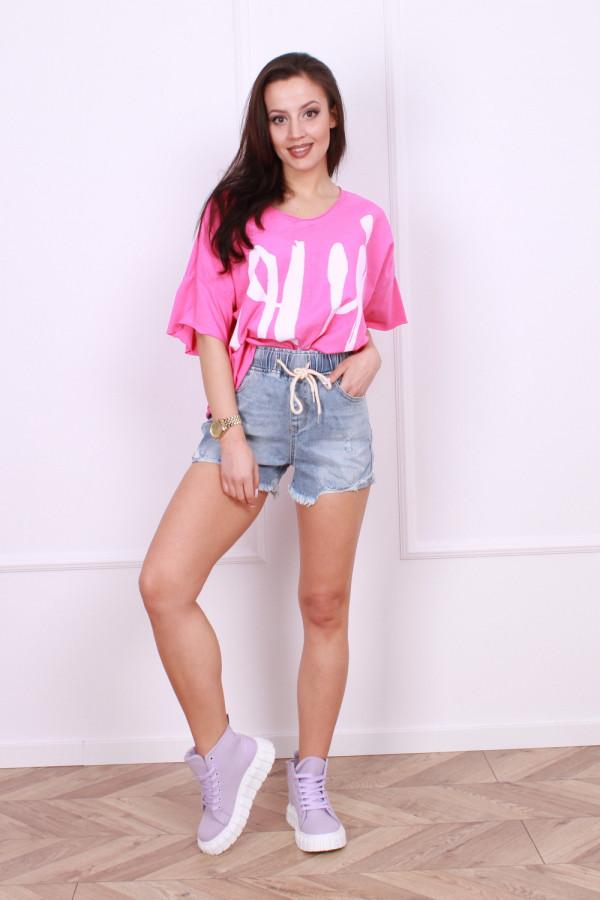 Krótkie spodenki jeansowe Anna