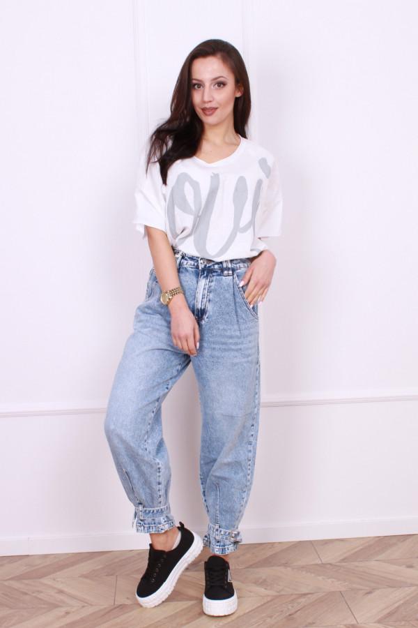 Spodnie jeansowe Street
