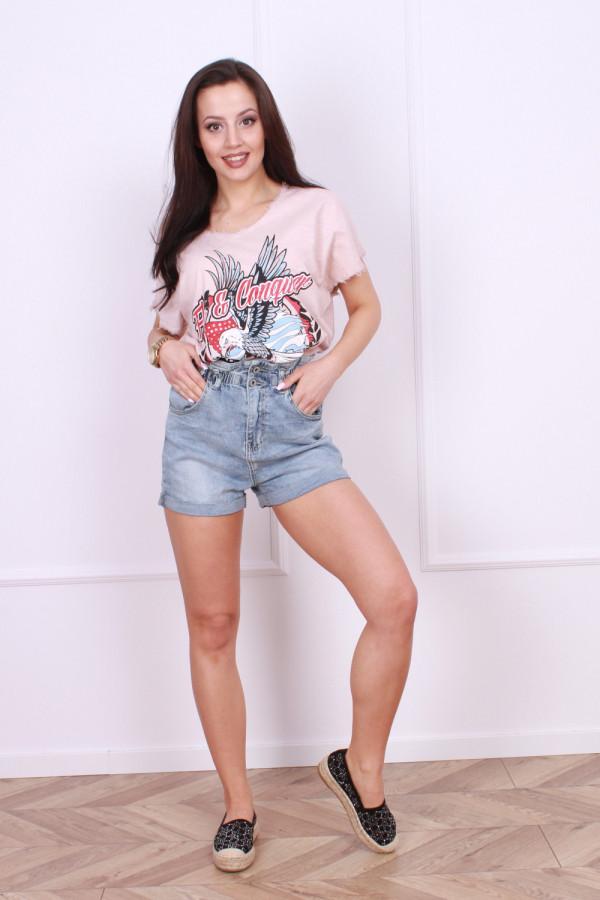 Krótkie spodenki jeansowe Pati