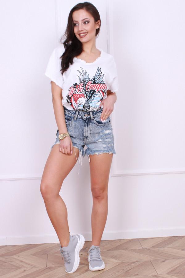 Spodenki krótkie jeansowe Wera