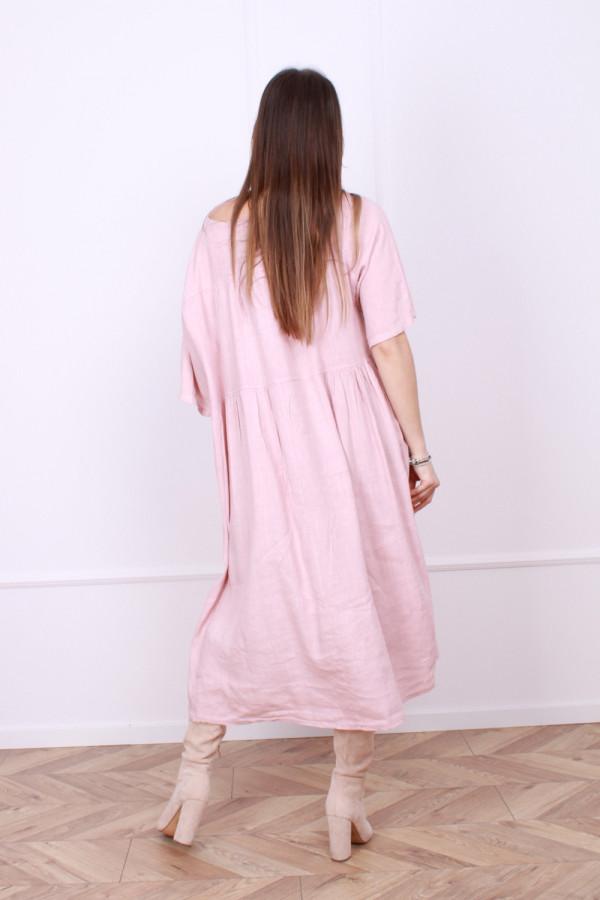 Sukienka lniana Ashley 2