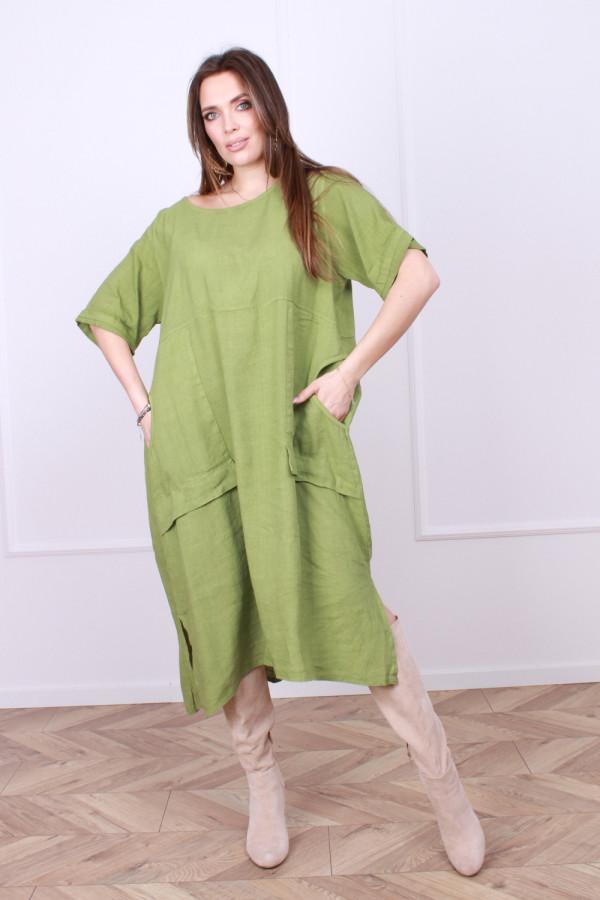 Sukienka lniana Ashley 4