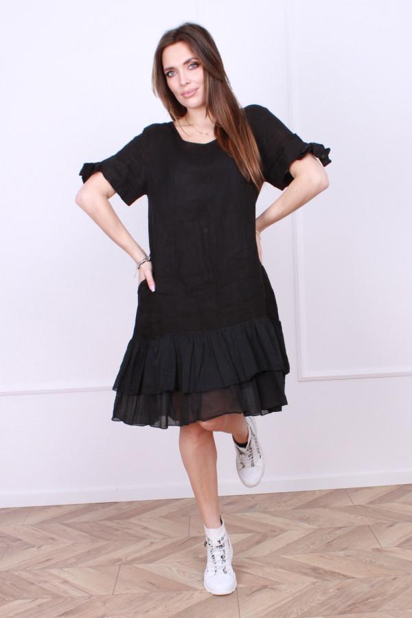 Sukienka lniana Bonna