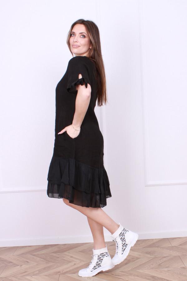 Sukienka lniana Bonna 1