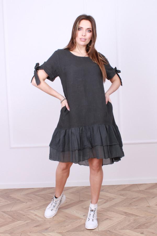 Sukienka lniana Bonna 3