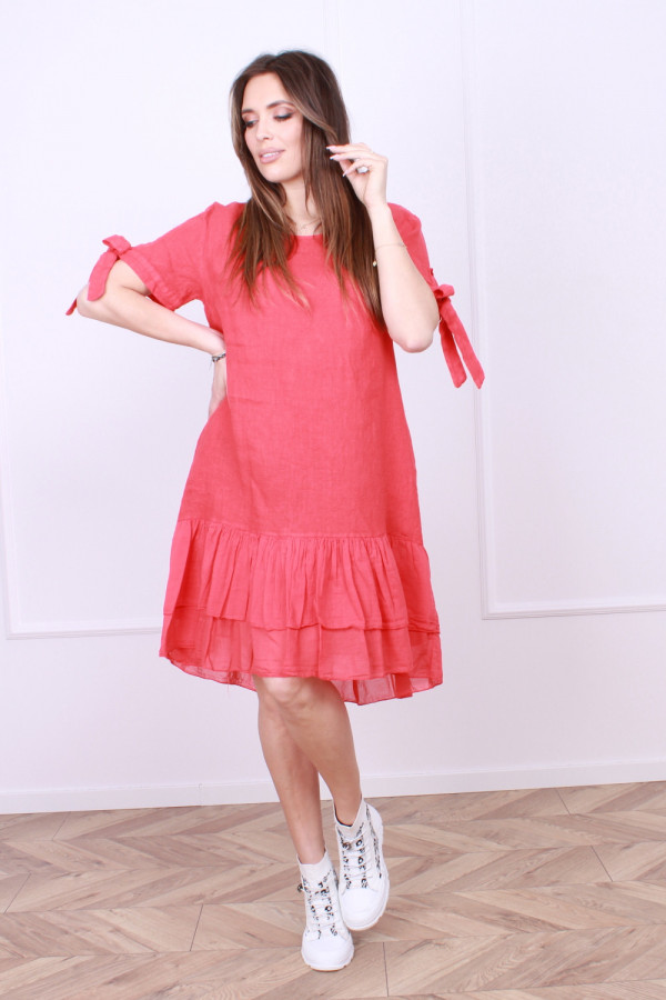 Sukienka lniana Bonna 4