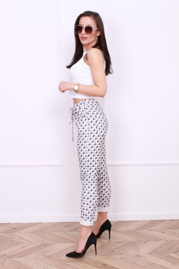 Spodnie w pepitę 2