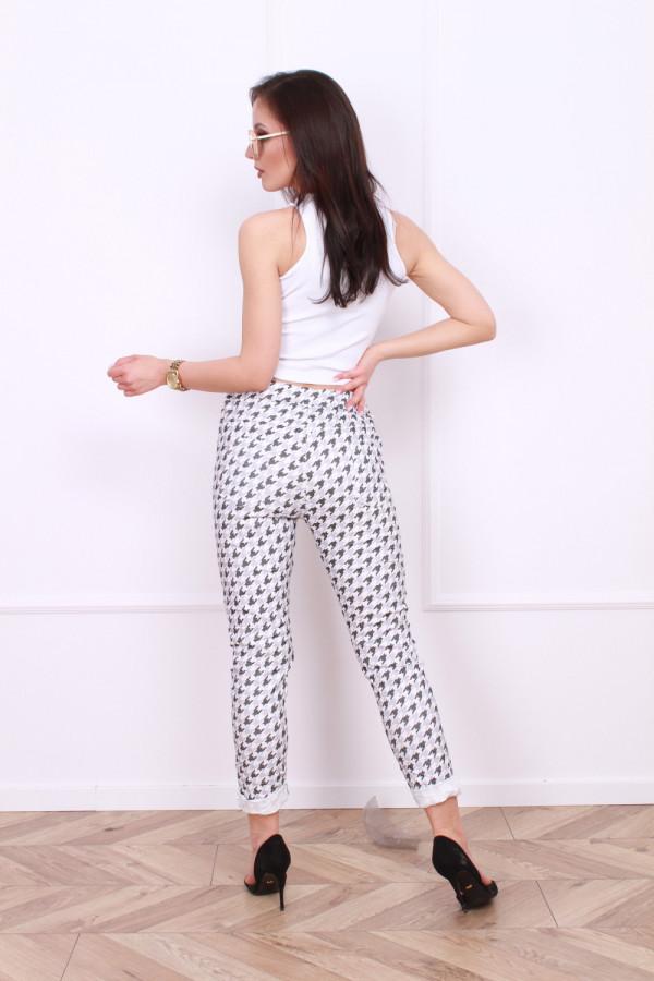 Spodnie w pepitę 3