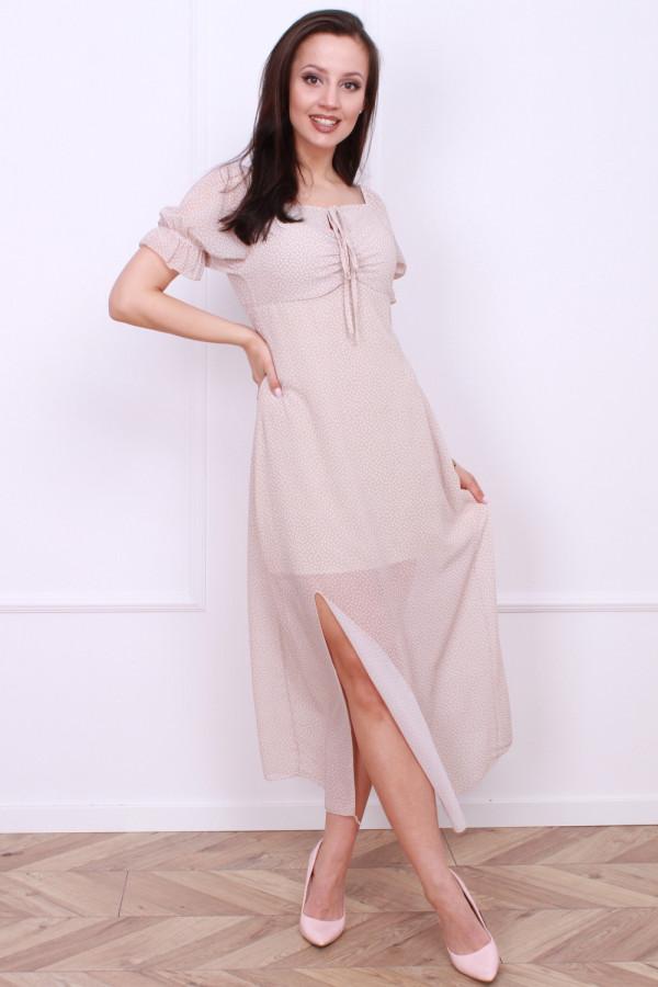 Sukienka w groszki 3