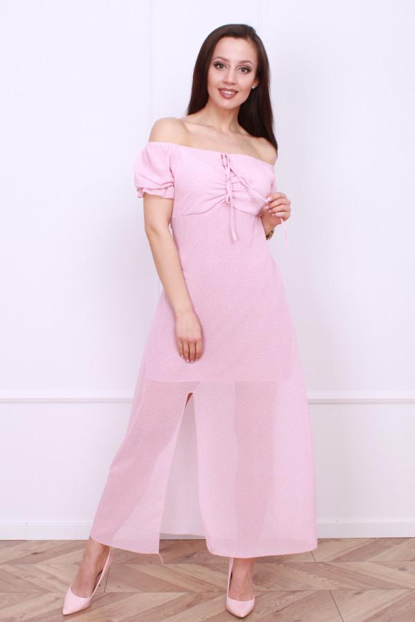 Sukienka w groszki 4