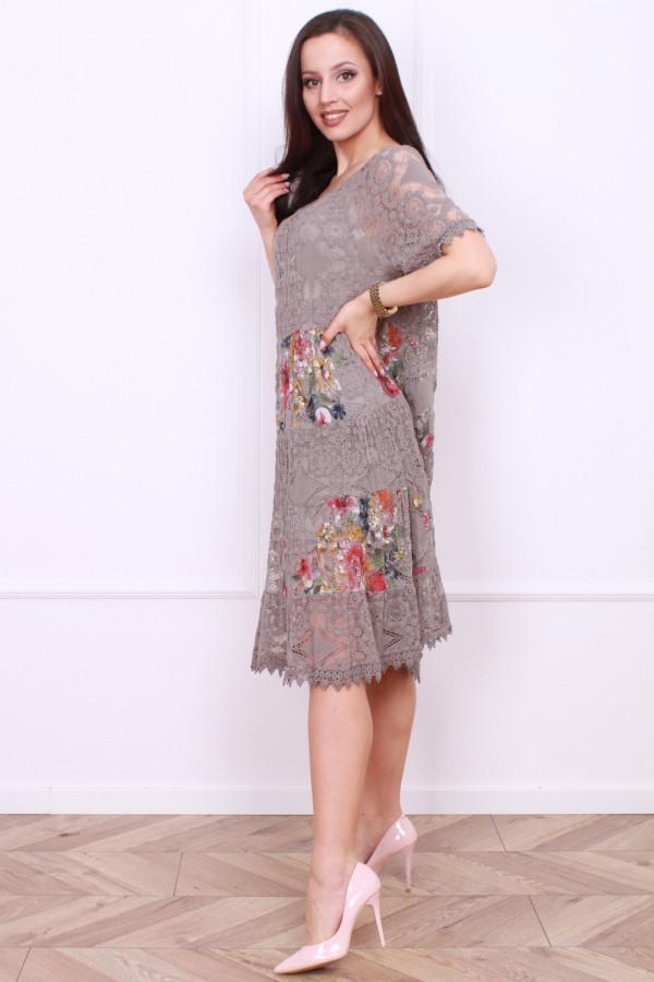 Sukienka wzorzysta 1