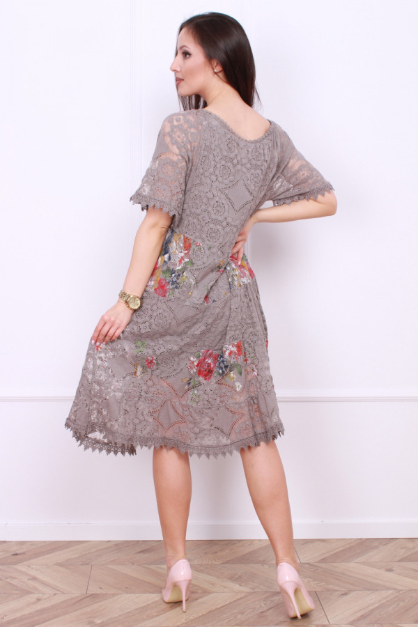 Sukienka wzorzysta 2
