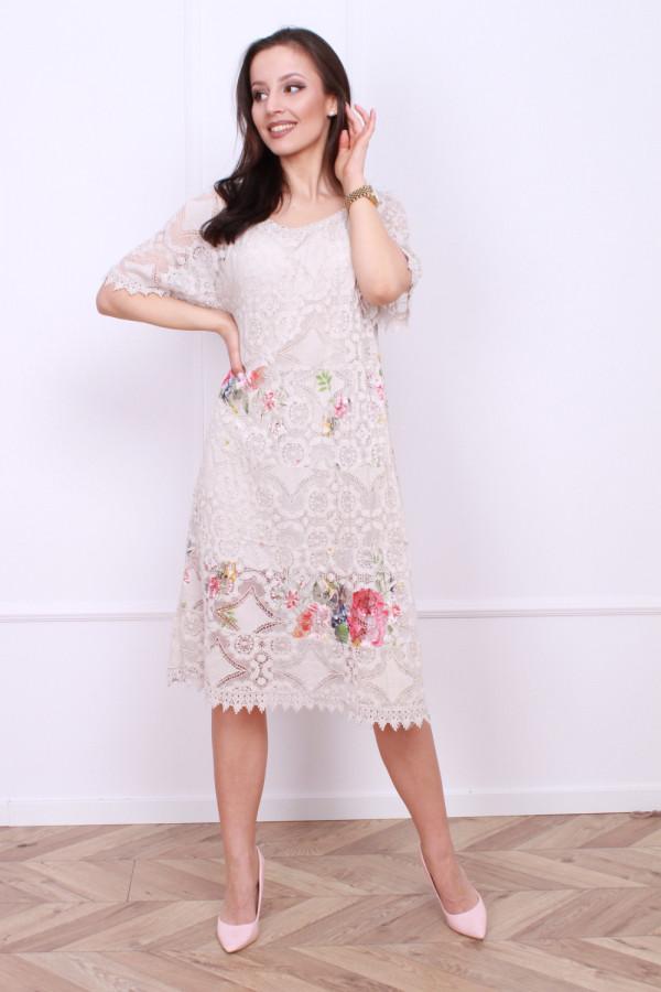 Sukienka wzorzysta 3