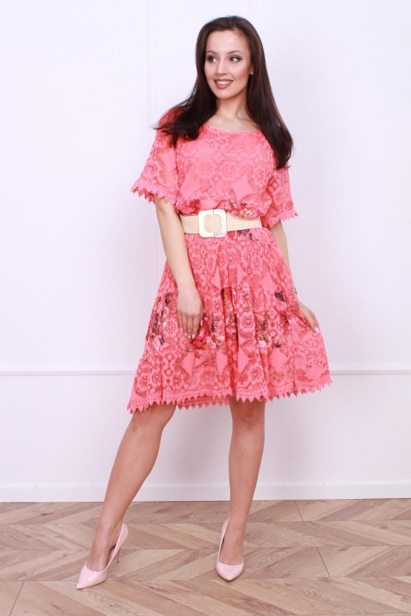 Sukienka wzorzysta 4