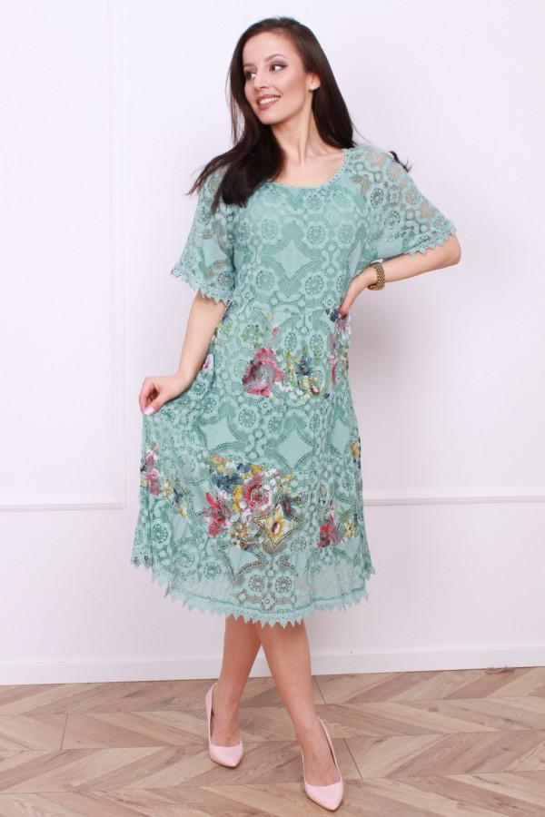 Sukienka wzorzysta 5
