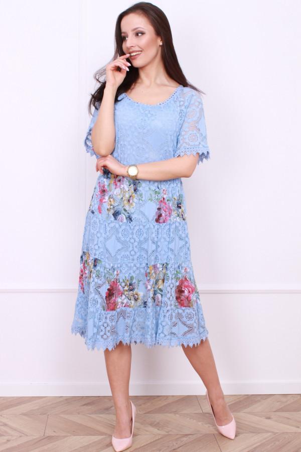 Sukienka wzorzysta 6