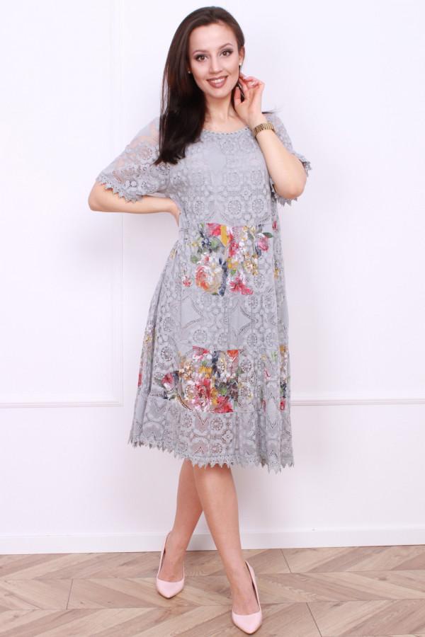 Sukienka wzorzysta 7