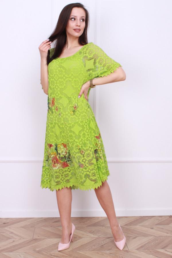 Sukienka wzorzysta 8