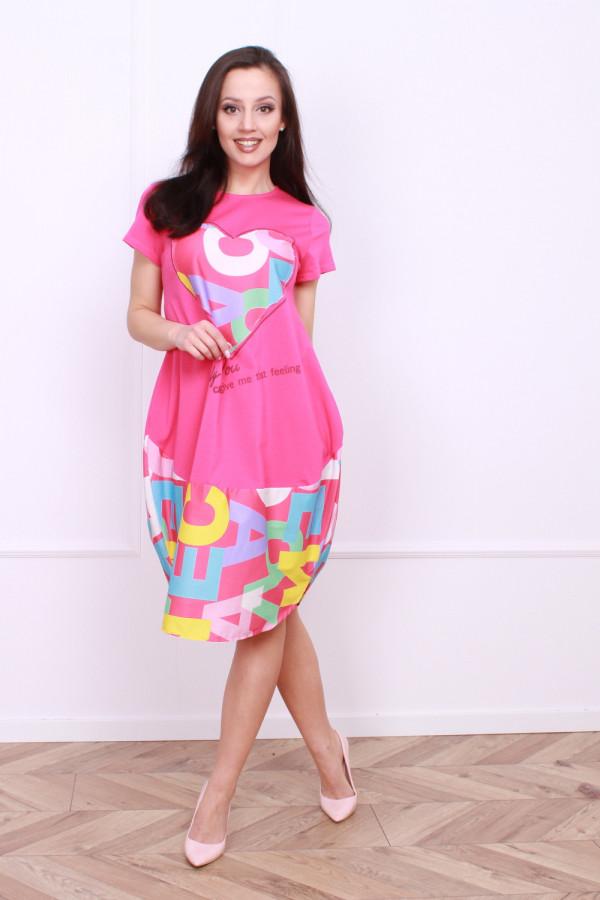 Sukienka z nadrukami 3