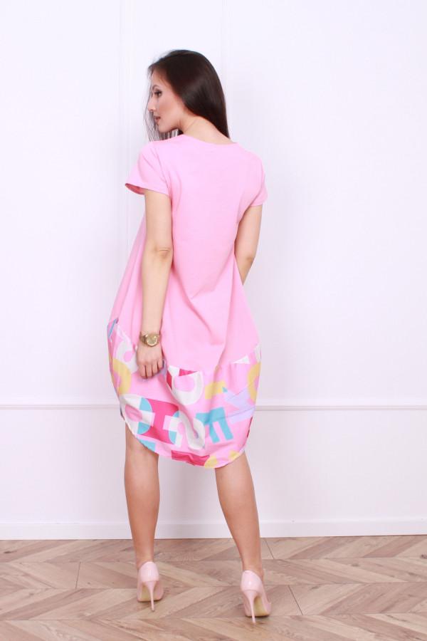 Sukienka z nadrukami 6