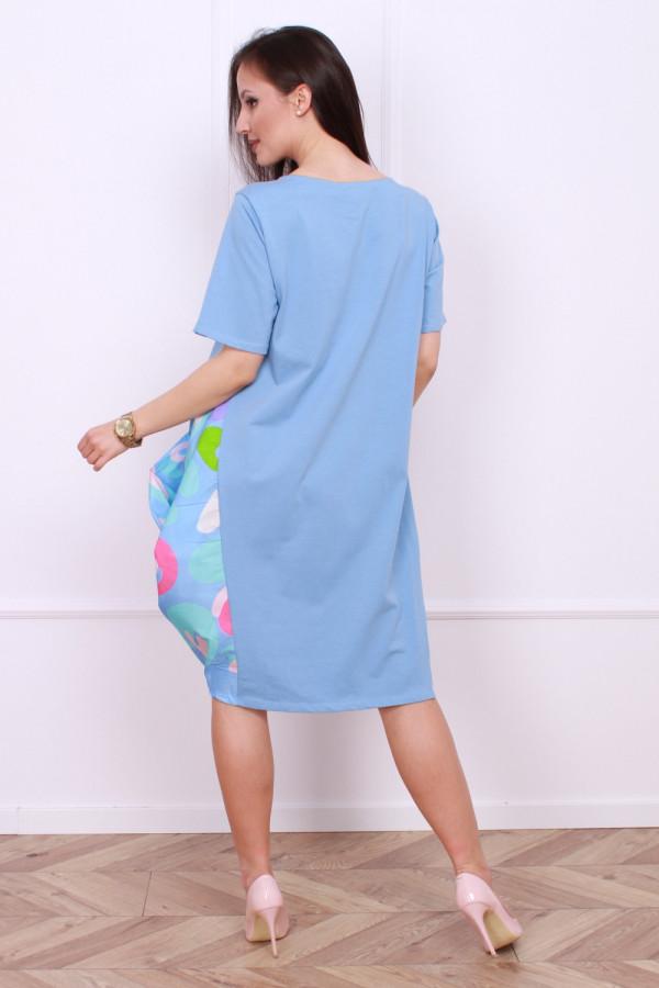 Sukienka z bufiastym dołem 2