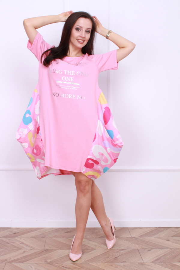 Sukienka z bufiastym dołem 5