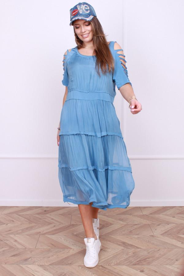 Sukienka z falbanami 3