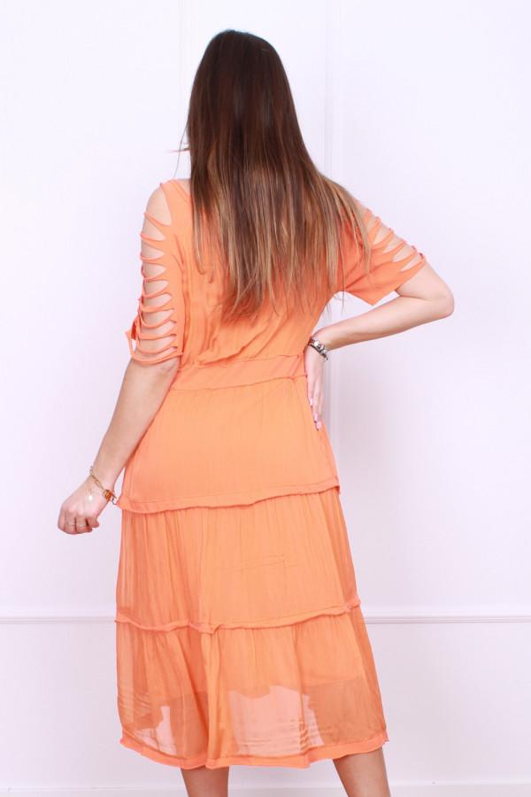 Sukienka z falbanami 2