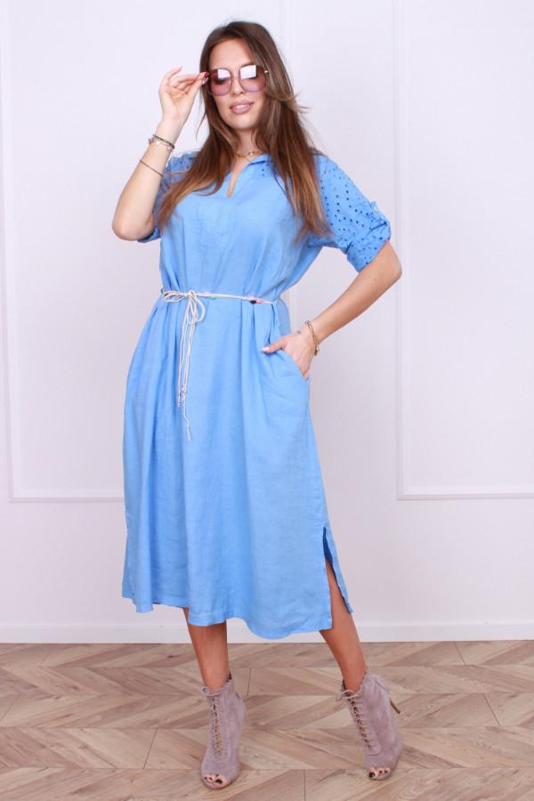 Sukienka z haftowaną górą 5