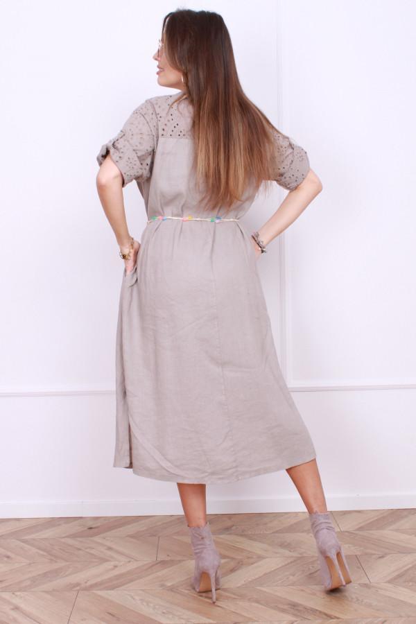 Sukienka z haftowaną górą 2