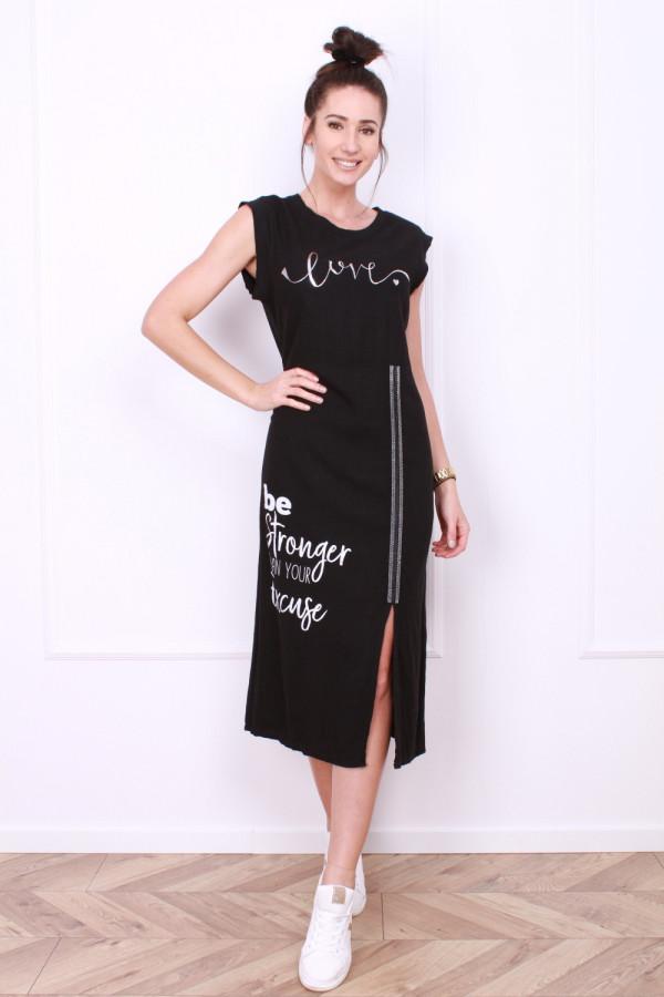 Sukienka z rozporkiem 3