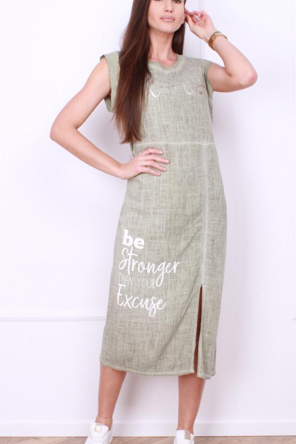 Sukienka z rozporkiem 4