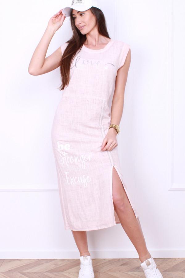 Sukienka z rozporkiem 5