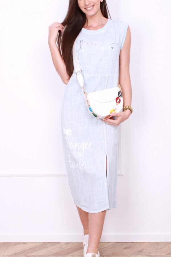 Sukienka z rozporkiem 6