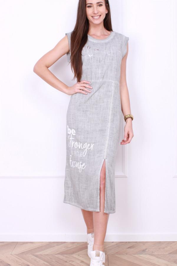 Sukienka z rozporkiem 7